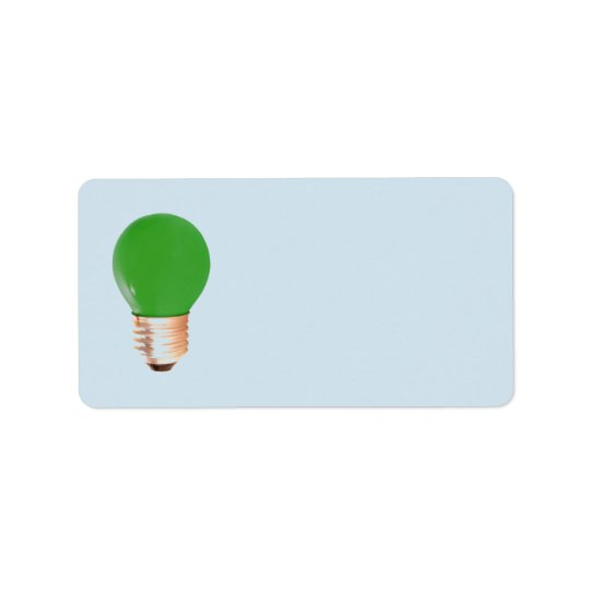 """MAKE YOUR OWN """"LIGHT BULB"""" LABELS"""