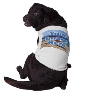 Make Your Own Personalized DIY Sleeveless Dog Shirt
