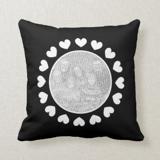 Make your own photo throw pillow for your picture cushions