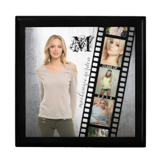 Make Your Own Senior Portrait Retro Film Negative Gift Box