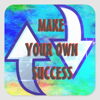 Make Your Own Success Stickers