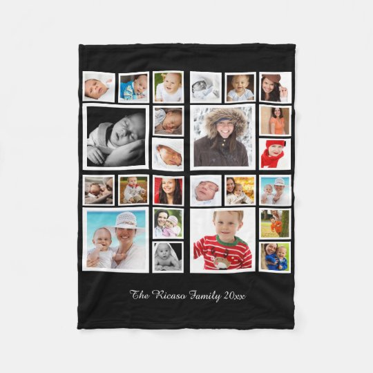 Image is loading Personalised-Soft-Fleece-Photo-Printed-Blanket-Bed-Throw-