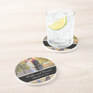 Make Your Own Wedding Photo Keepsake Coasters