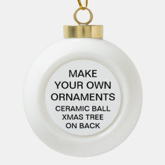 Make Your Own XMAS TREE Ball Christmas Ornament