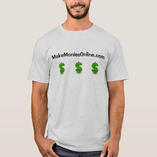 makemoniesonline.com tshirt