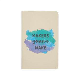 Makers Gonna Make | Artist/Writer Pocket Notebook