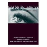 MakeUp Artist 1 - Business, Schedule Card