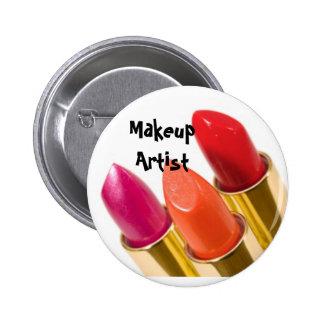 Makeup Artist 6 Cm Round Badge