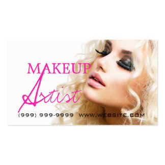 Makeup Artist Beauty Cosmetology Salon Pack Of Standard Business Cards