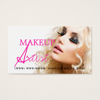 Makeup Artist Beauty Cosmetology Salon Business Card