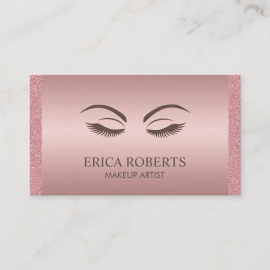 Makeup artist beauty girl elegant rose gold business card zazzle makeup artist beauty girl elegant rose gold business card colourmoves