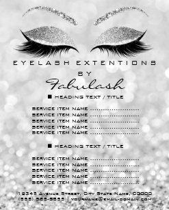 makeup artist flyers zazzle co uk
