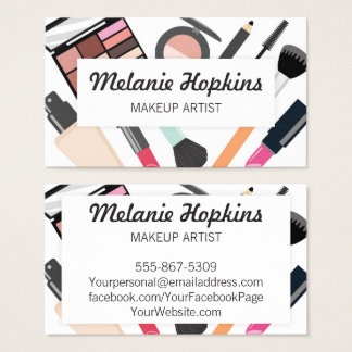 Makeup Artist Beauty Tools Salon Spa Business Card