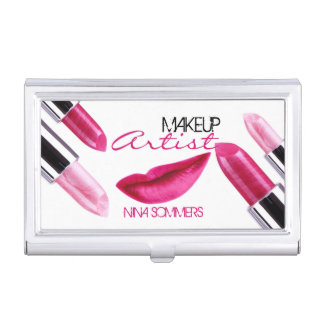 Makeup Artist Business Card Holder