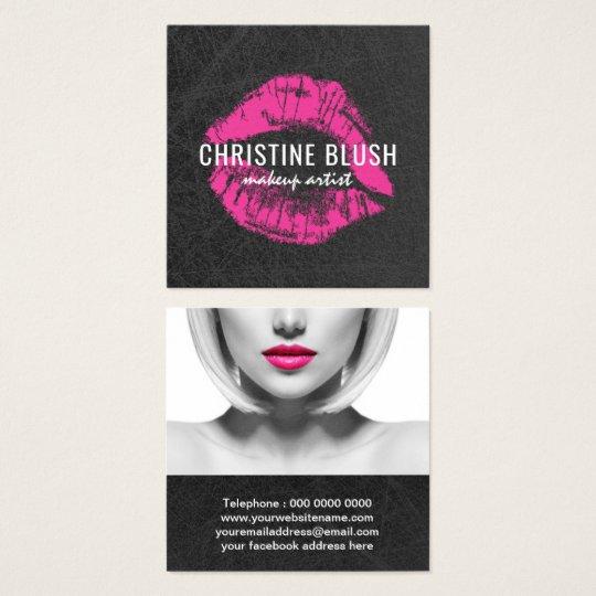 Makeup Artist Business Card Template