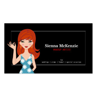 Makeup Artist Business Card Templates