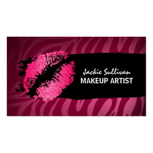 Makeup Artist Business Cards