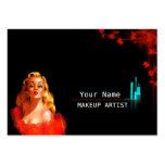 MakeUp Artist - Business- / Schedule Card