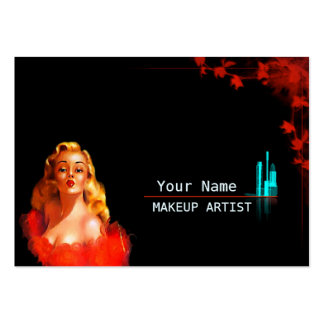 MakeUp Artist - Business- / Schedule Card Pack Of Chubby Business Cards