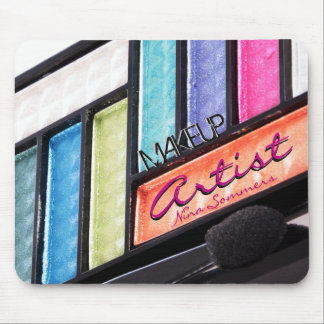 Makeup Artist Colorful Eyeshadow Palette Mouse Mat