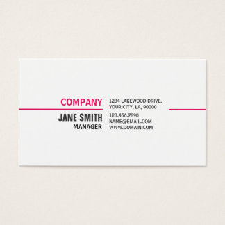 Makeup Artist Cosmetologist Elegant Professional Business Card