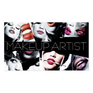 MakeUp Artist Cosmetology Salon Beauty Pack Of Standard Business Cards