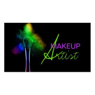 MakeUp Artist, Cosmetology, Salon Business Card