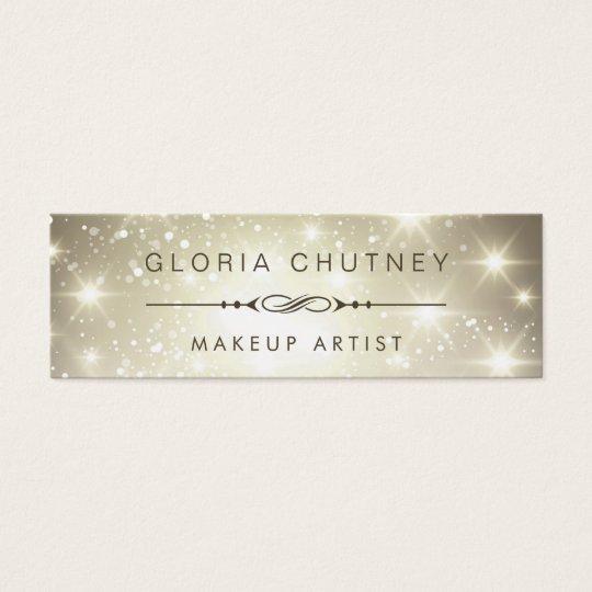 Makeup Artist - Dazzle Sparkling Bokeh Glitter Mini