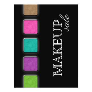 Makeup Artist Flyer Salon Colorful Palette