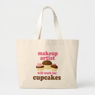 Makeup Artist (Funny) Gift Jumbo Tote Bag