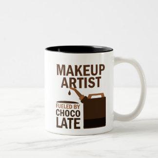 Makeup Artist (Funny) Gift Two-Tone Coffee Mug