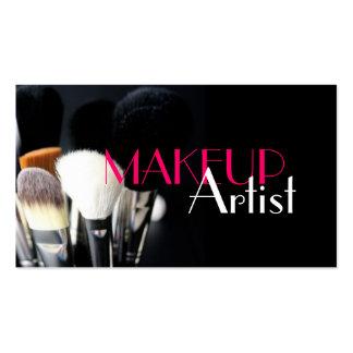Makeup Artist Nails Cosmetology Business Cards Makeup