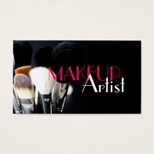 MakeUp Artist, Nails, Cosmetology Business Card