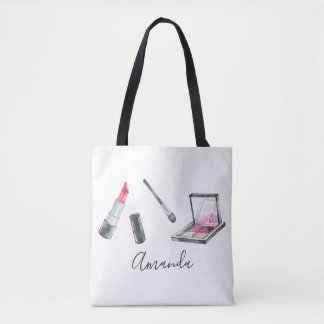 Makeup Artist Personalized Custom Art Tote Bag