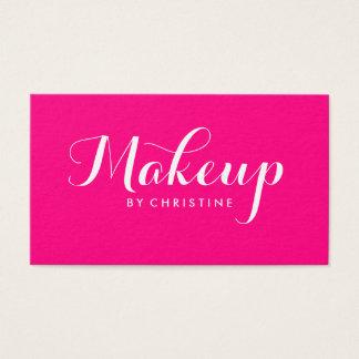 Makeup Artist Pink Minimalist