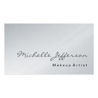 Makeup Artist Platinum Business Card