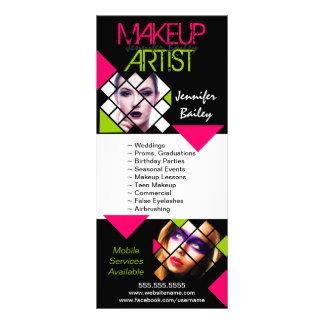 Makeup Artist Portfolio Rack Cards