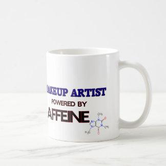 Makeup Artist Powered by caffeine Coffee Mug