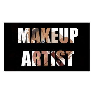 Makeup Artist Salon Business Card