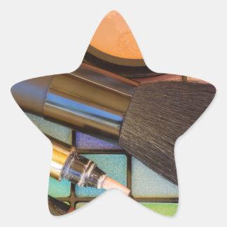 Makeup Artist Star Sticker