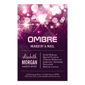 Makeup Beauty - Pink Glitter Sparkles Flyer
