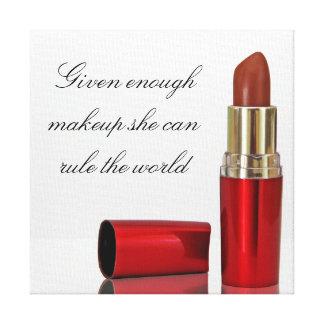 Makeup canvas