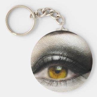 makeup Cosmetics Eye Keychains