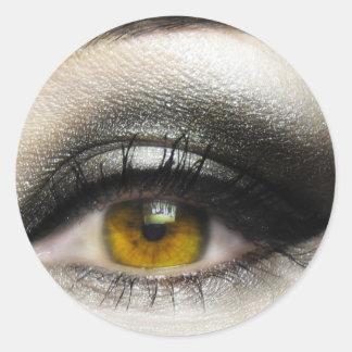 Eye makeup stickers