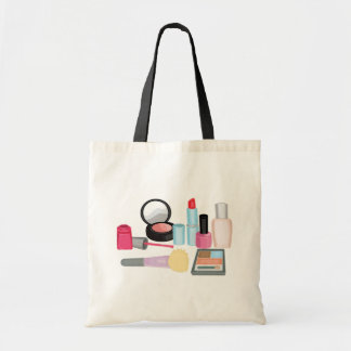Makeup Cosmetics Tote Bag