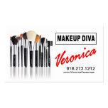 Makeup Diva for Makeup Artists Business Card