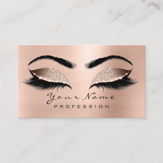 bcb0878068f Makeup Eyes Lashes Wax Pink Rose Appointment Card | Zazzle.co.uk