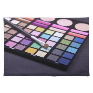 Makeup Eyeshadow Artist Fashion Placemat