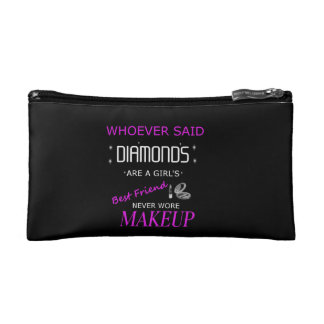 Makeup Is My BFF Cosmetic Case Makeup Bags