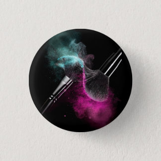 Makeup Lovers 3 Cm Round Badge